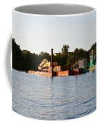 Barge In Naples Bay Coffee Mug