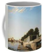 Barges At A Mooring Coffee Mug