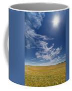 Barley Field Near Airdrie, Alberta Coffee Mug