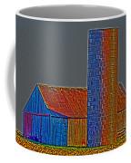 Barn And Silo Coffee Mug