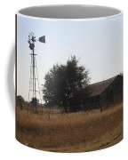 Barn And Windmill Coffee Mug
