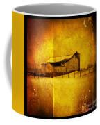 Barn In Snow Coffee Mug