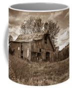 Barn In Turbulent Sky Coffee Mug