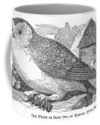 Barn Owl, 1877 Coffee Mug