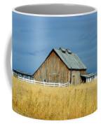 Barn With Stormy Skies Coffee Mug