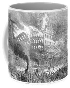 Barnums Museum Fire, 1865 Coffee Mug