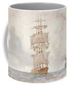 Barque And Tug Coffee Mug
