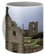 Barred Windows And Stone Ruins At Port Coffee Mug by Jason Edwards