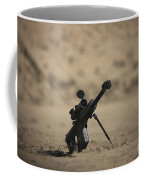 Barrett M82a1 Rifle Sits Ready Coffee Mug