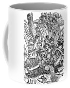 Bartholmew Roberts And Crew Drinking Coffee Mug by Photo Researchers