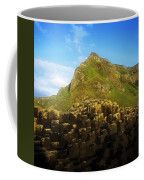 Basalt Rock Formations Near A Mountain Coffee Mug