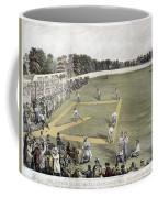 Baseball, 1866 Coffee Mug