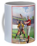 Baseball Game, C1895 Coffee Mug