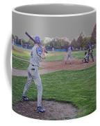 Baseball On Deck Digital Art Coffee Mug