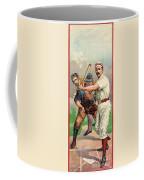 Baseball Player, C1895 Coffee Mug