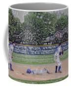 Baseball Playing Hard Digital Art Coffee Mug