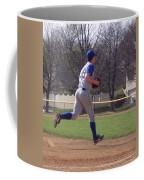 Baseball Step And Throw From Third Base Coffee Mug