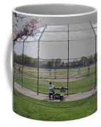 Baseball Warm Ups Digital Art Coffee Mug
