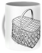 Basket, 19th Century Coffee Mug
