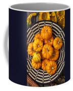 Basket Full Of Small Pumpkins Coffee Mug