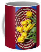 Basket Full Of Tulips Coffee Mug