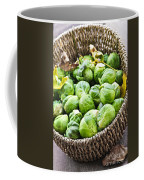 Basket Of Brussels Sprouts Coffee Mug