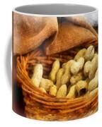 Basket Of Peanuts Coffee Mug