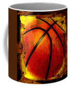 Basketball Abstract Coffee Mug by David G Paul