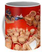 Basketwork Coffee Mug