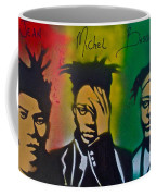 Basquait Me Myself And I Coffee Mug