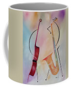 Bass And Sax Coffee Mug