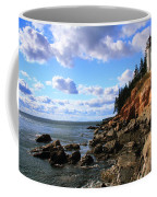 Bass Harbor Head Seascape Coffee Mug