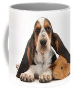 Basset Hound And Guinea Pig Coffee Mug