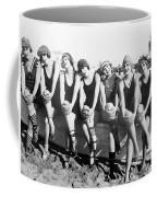 Bathing Beauties, 1916 Coffee Mug