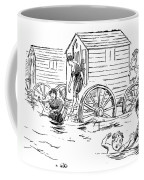 Bathing Machine, 1888 Coffee Mug