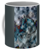 Battle Cloud - Horse Of War Coffee Mug