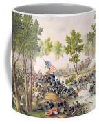 Battle Of Spottsylvania May 1864 Coffee Mug