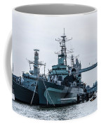 Battleships And Tugboat Coffee Mug