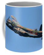 Bbmf Lancaster Bomber 2 Coffee Mug by Ken Brannen