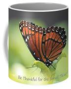 Be Thankful Coffee Mug by Carol Groenen