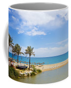 Beach And Sea On Costa Del Sol Coffee Mug