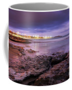 Beach At Dusk Coffee Mug by Carlos Caetano