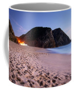 Beach At Evening Coffee Mug by Carlos Caetano