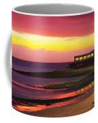 Beach At Sunset Coffee Mug