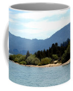 Beach Biking Lake Tahoe Coffee Mug