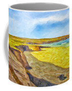 Beach Cliffs South Of San Onofre Coffee Mug