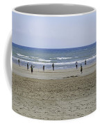 Beach Cricket - Bridlington Coffee Mug