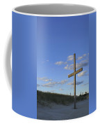 Beach Cross Coffee Mug