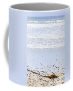 Beach Detail On Pacific Ocean Coast Coffee Mug