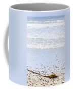 Beach Detail On Pacific Ocean Coast Coffee Mug